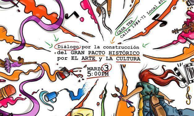 Gran pacto histórico por el arte y la cultura