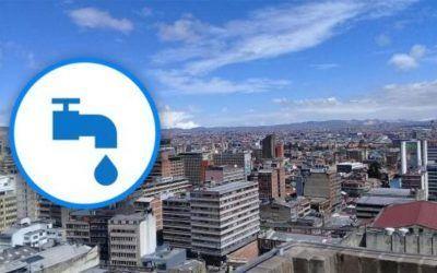 Cortes de agua en Bogotá