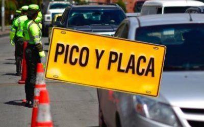 Bogotá pico y placa